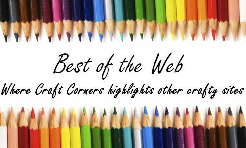 Craft Corners Best of the Web, wire cube organizer