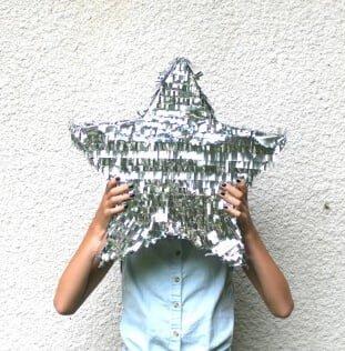 pinata silver star