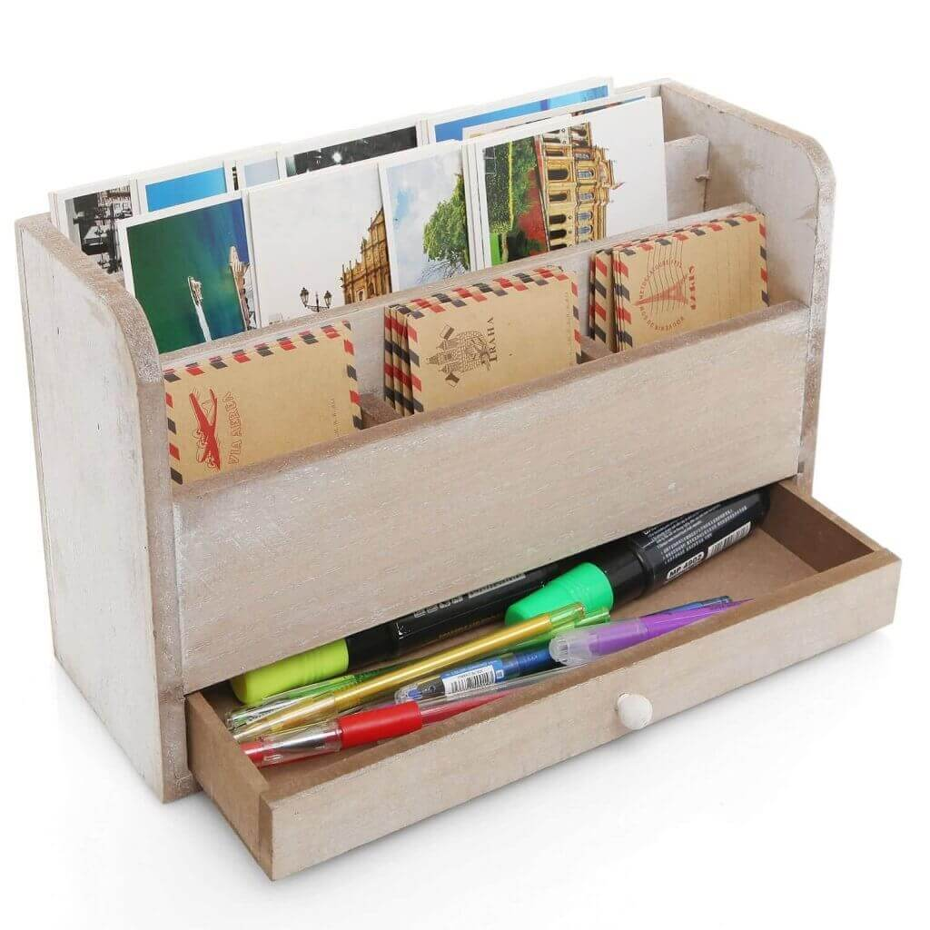 Business mail organizer via Amazon.com