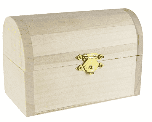 Unfinished treasure box by Amazon.com