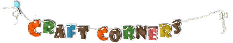 cropped craft corners logo blue