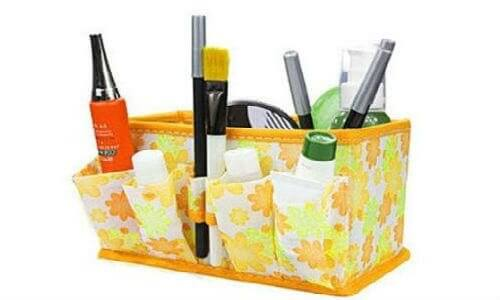 fabric makeup organizer via become.com merchant