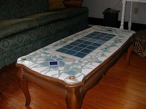 Mosaic low coffee table Creative Commons | Bart Everson | https://www.flickr.com/photos/editor/2723529334/