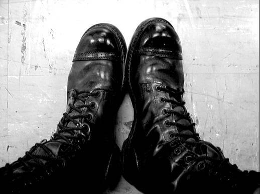 army boots Creative Commons | j.botter | https://www.flickr.com/photos/botter/311414