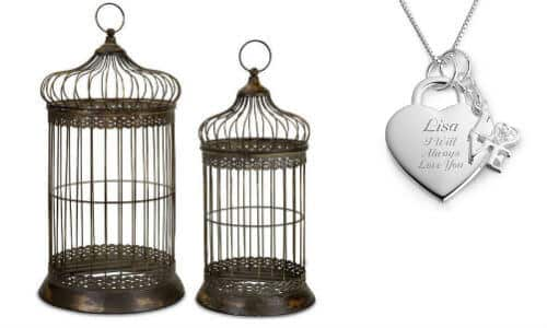 bird cage jewelry organizer