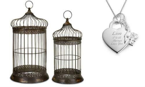 bird cage jewelry organizer