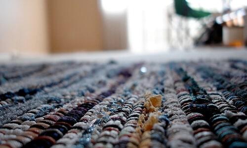 DIY Rug Mosaic